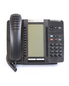 MITEL 5320e VoIP GIGABIT PHONE WITH LARGE NON BACK LIT DISPLAY