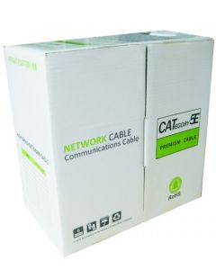 UTP CAT5E CABLE 1000FT EASY PULL BOX GREY