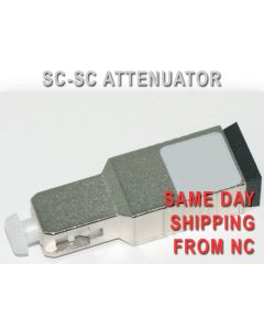 SC-SC UPC ATTENUATOR 15DB LOW PDL