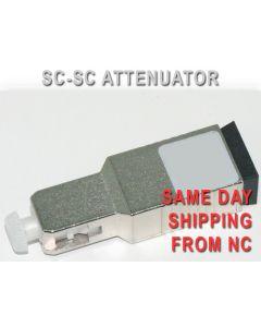 SC-SC UPC ATTENUATOR 25DB LOW PDL